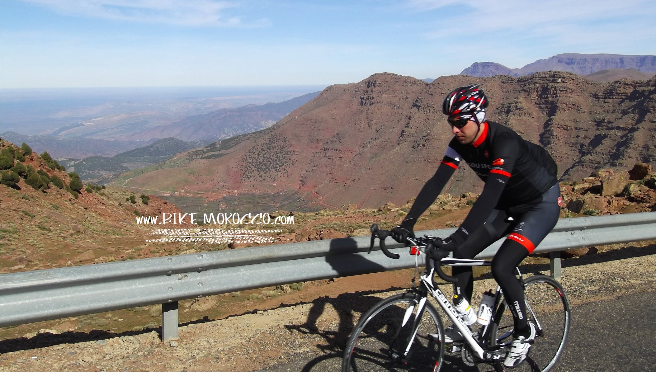 Marrakech Atlas road cycling holiday ¦ Oukaimden Toubkal 18dd8b0dc